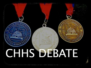 Click Here to go to the CHHS Debate Page